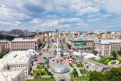 Independence Square of Kiev, Ukraine Royalty Free Stock Photo
