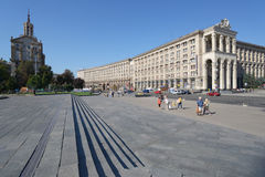 Independence square in Kiev, Ukraine Royalty Free Stock Photo