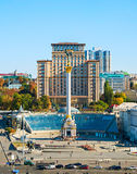 Independence Square. Kiev, Ukraine Royalty Free Stock Images