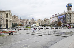 Independence Square in Kiev Royalty Free Stock Images