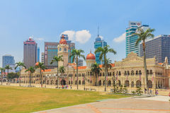 Independence Square in Kuala Lumpur Royalty Free Stock Images