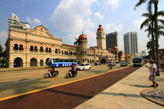 Sultan Abdul Samad Building, Merdeka Square. Royalty Free Stock Photos