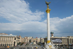 Independence square in Kyiv Royalty Free Stock Photography