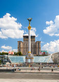 Independence square, the main square of Kyiv Royalty Free Stock Images