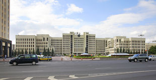 Independence Square in Minsk. Belarus Stock Image