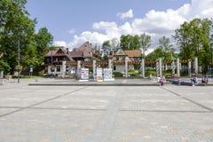 Independence Square, Zakopane Royalty Free Stock Photography