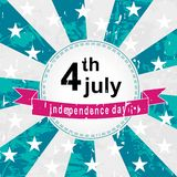 Independence sticker Stock Photo