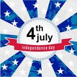 Independence sticker Stock Photos