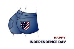 Independenceday ilustracja wektor
