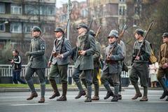 Independencia de Polonia Imagen de archivo libre de regalías