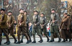 Independencia de Polonia Fotos de archivo