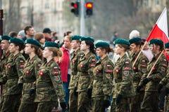 Independencia de Polonia Fotografía de archivo