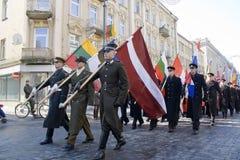 Independencia de VILNIUS - del 11 de marzo de Lituania Fotografía de archivo libre de regalías