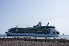 Independencia del trazador de líneas del crucero del mar Fotos de archivo