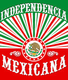 Independencia Mexicana - Mexican independence Royalty Free Stock Photos