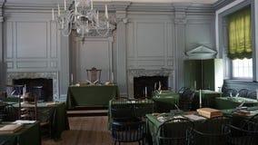 Independencia Pasillo en Philadelphia Fotografía de archivo libre de regalías