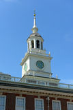 Independencia Pasillo, Philadelphia imagen de archivo