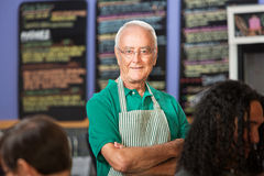 Independent Coffee House Owner Royalty Free Stock Image