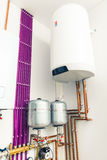Independent heating system Royalty Free Stock Images