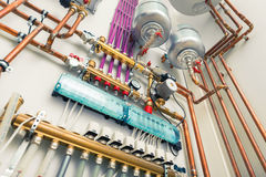 Independent heating system Royalty Free Stock Image