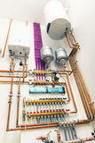 Independent heating system Stock Images