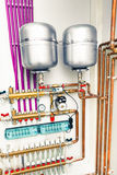 Independent heating system royalty free stock photography