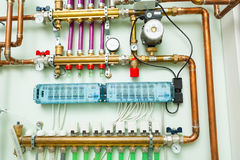 Independent heating system Royalty Free Stock Photos