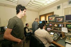 An independent Iraqi television station, Cario Royalty Free Stock Photography