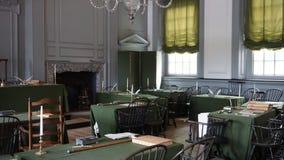 Independência Salão em Philadelphfia Fotografia de Stock Royalty Free