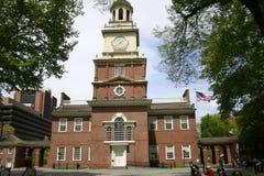Independência Salão, Philadelphfia Foto de Stock Royalty Free