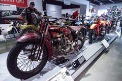 Inder-Ace-Motorrad des Rot-1927 Lizenzfreies Stockbild