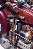 Inder-Ace-Motorrad des Rot-1927 Lizenzfreies Stockfoto