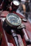 Inder-Ace-Motorrad des Rot-1927 Stockfotografie