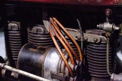 Inder-Ace-Motorrad des Rot-1927 Stockbild
