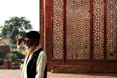 Inder, der historischen Platz besichtigt Lizenzfreies Stockfoto