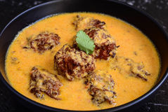 Inder Kofta-Curry stockfoto