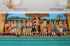 Inder-Tempel Sri Mahamariamman Stockbild