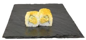 Inder Tuna Roll Sushi Stockfotos
