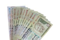 Inder verbot Währung von Rupie 1000, 500 lizenzfreies stockbild