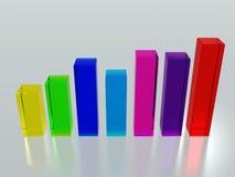 Index bars stock illustration