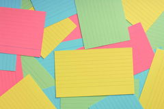 Index Card Background Stock Photos