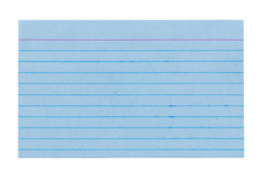 Index Card 4 Royalty Free Stock Images