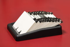 Index card holder Stock Image