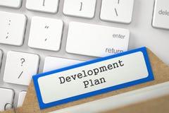 Index de dossier avec le programme de développement d'inscription 3d Photo stock