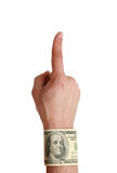 Index finger Stock Image