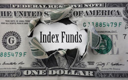 Index Funds money Stock Images