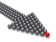 Index made of balls Stock Images