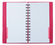 Index notebook Royalty Free Stock Images