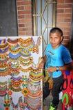 Indgenas in Medellin, Colombia royalty-vrije stock foto's