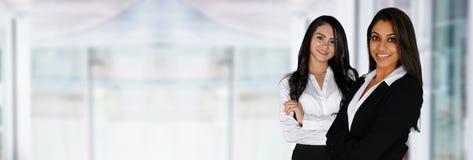 Indiańscy bizneswomany W biurze zdjęcia stock